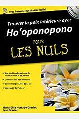 La Paix intérieure avec Ho'ponopono poche pour les Nuls Capa comum