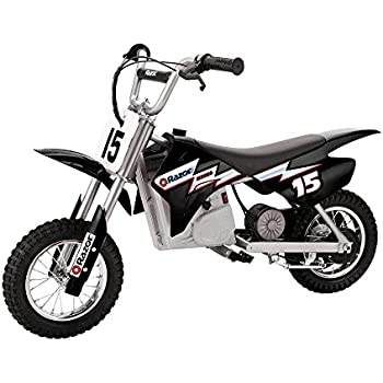 Razor Mx400 Dirt Rocket 24v Electric Toy Motocross Motorcycle Dirt Bike Black