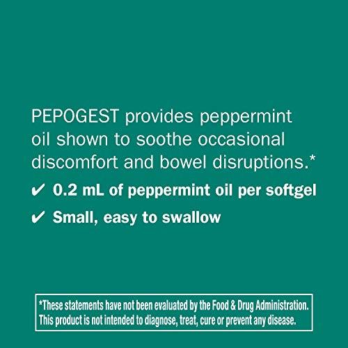 Pepogest, con recubrimiento entérico de aceite de menta, 60 Cápsulas Blandas - Camino de la Naturaleza: Amazon.es: Salud y cuidado personal