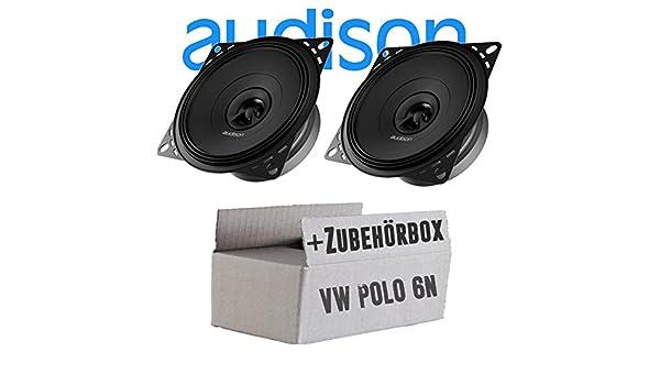 Audison APX 4-10cm 2-Wege Koax Lautsprecher - Einbauset für VW ...