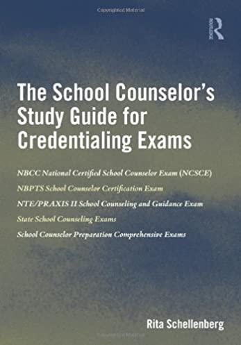 amazon com the school counselor s study guide for credentialing rh amazon com school counselor exam study guide school counselor exam study guide