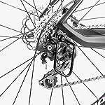 dancepandas-Protezione-Deragliatore-Posteriore-MTB-6PCS-Protettore-Cambio-in-Metallo-Nero-per-Accessori-da-Ciclismo-per-Esterni