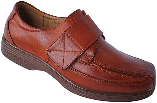 Herren Schuhe Halbschuhe Slipper Gr.39 - 46 Art.- Nr. L56 braun