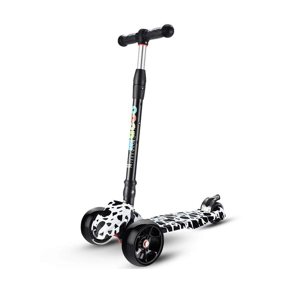 Para tu estilo de juego a los precios más baratos. Scooter con una Sola Pierna Flash niños 2-16 años años años Scooter Plegable (Color : B)  producto de calidad