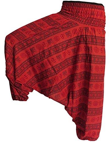 third-eye-export-mens-indian-alibaba-om-gypsy-hippie-yoga-meditation-pants-regular-size-red