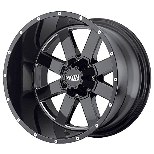 Moto Metal Rims (Moto Metal MO962 Gloss Black Wheel With Milled Accents (18x9