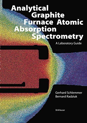 Analytical Graphite Furnace Atomic Absorption Spectrometry: A Laboratory Guide (Biomethods)