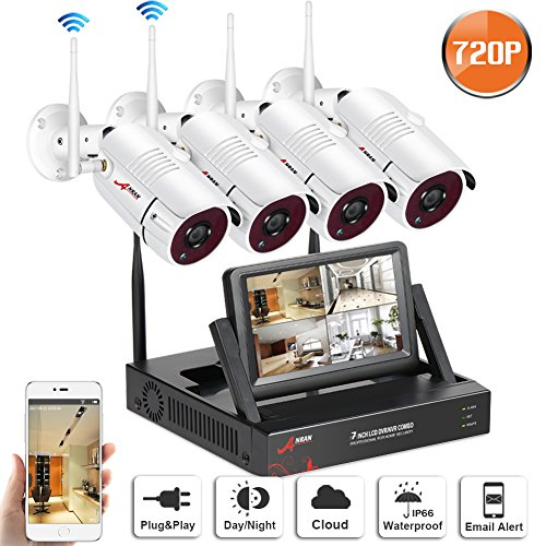 Security Wireless Surveillance 4Channel ANRAN product image