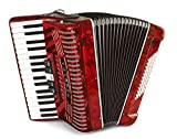 Hohner 1305-RED Hohnica 72 Bass 34-Key Entry