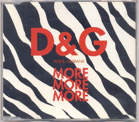 Price comparison product image Dolce & Gabbana: More More More (Rare 4 Track Version)