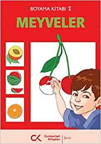 Boyama Kitabi 2 Meyveler Kolektif 9789944150156 Amazoncom Books