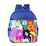 Toddler Kids Adventure Time School Backpack Funny Sayings Baby Boys Girls School Bag RoyalBlue