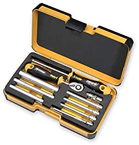 Felo R-go M-tec Ergonic Ratchet 10 Piece Set