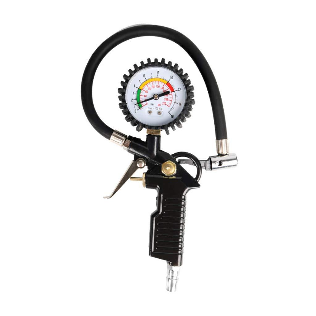 Misuratore Di Pressione Barometrica Di Alta Precisione Con La Gomma Gonfiabile Dell'automobile Monitor Display Digitale Pompa Pistola LCY