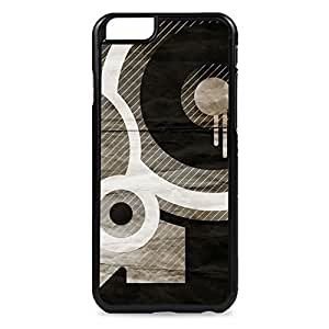 Black Circle Pattern Snap-on Hard Back Case Cover For SamSung Galaxy S5 Mini