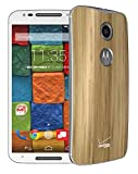 Motorola MOTO X 2nd Gen XT1096 16GB Unlocked GSM 4G LTE Smartphone - White Front/Wood Rear (Certified Refurbished)