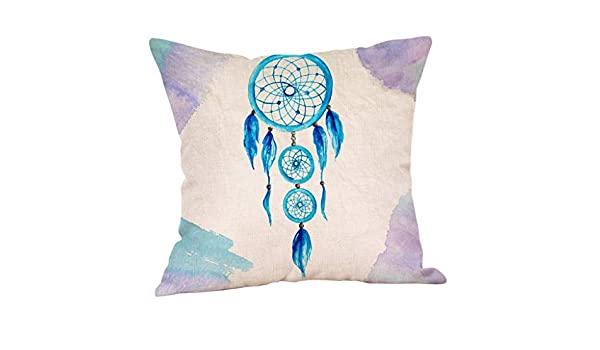 MObast Funda de Almohada, diseño Creativo de Lino, para sofá ...
