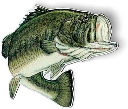 Amazon Com Largemouth Bass Fishing Fish Magnet Car Fridge Locker Select Size Kitchen Dining