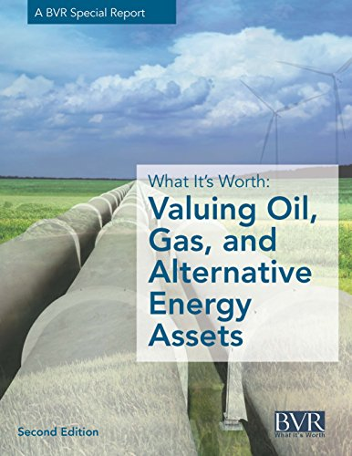 What It's Worth:  Valuing Oil, Gas, and Alternative Energy Assets, Second Edition