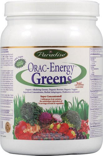 Paradise Herbs Orac Energy Greens -- 12.8 oz - 3PC by Echofr