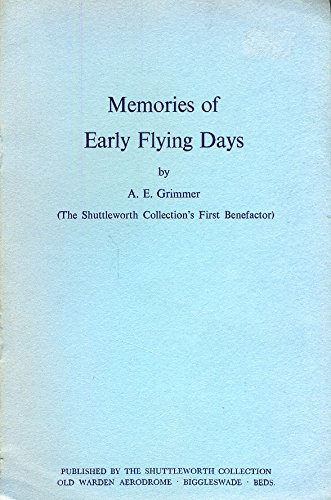 Memories of Early Flying Days