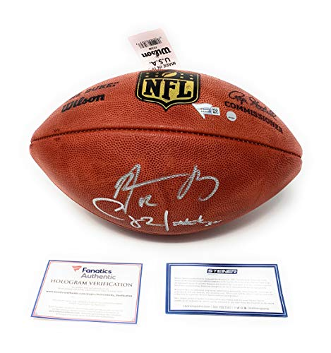 (Aaron Rodgers Clay Matthews Green Bay Packers Dual Signed Autograph NFL Authentic Duke NFL Football #2 Steiner Sports Fanatics Authentic Certified)