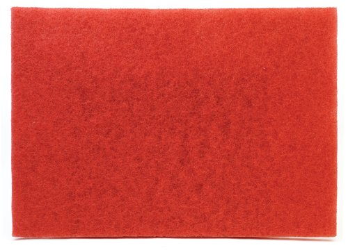 3M(TM) Red Buffer Pad 5100, 20 in x 14 in, 10 per case