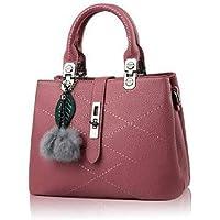 حقيبة جلد للنساء-احمر انبيذي - حقائب كبيرة توتس