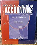 img - for Paradigm College Accounting 3rd Ediyion Revised Chapters 1 -27 Solutions Manual book / textbook / text book