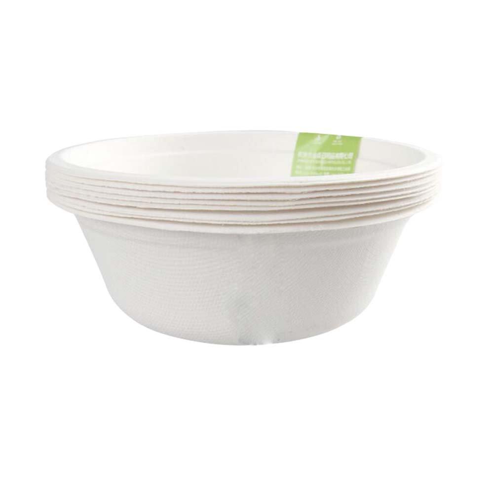East Majik Disposable Bowl Degradable Tableware 500ML Set of 24