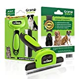 Dog, Cat Grooming, Pet Supplies, Deshedding Tool, for All Large & Small Pets. Rabbits to Horses with Short to Long Hair. Dramatically Reduce Shedding and Your Pet Care Time.