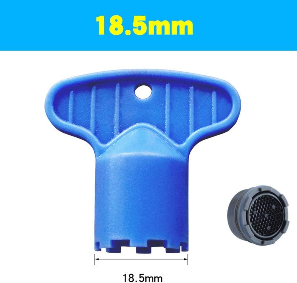 DOITOOL 5 unids herramienta de eliminaci/ón de aireador de grifo ABS parte de la base DIY instalar grifo aireador llave llave aireador para cocina ba/ño hogar M 16.5, 18.5, 21.5, 22.5, 24