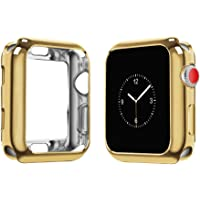 top4cus Environmental Soft Flexible TPU Anti-Scratch Lightweight Protective 44mm Iwatch Case Compatible with Apple Watch…