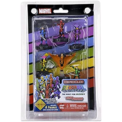 Marvel HeroClix: Mercs 4 Money Fast Forces ( 6 Figures ) Wizkids 72186: Toys & Games