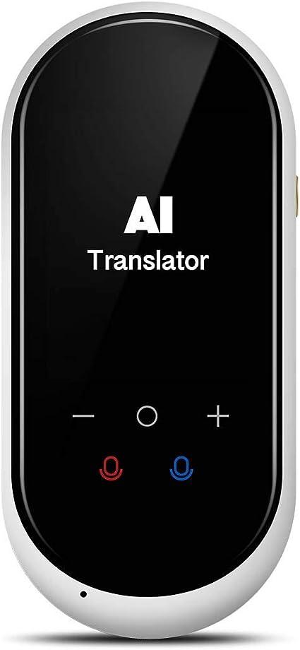 Traductor de voz Instantánea con Pantalla Táctil de 2,4 pulgadas ...