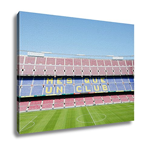 Ashley Canvas, Barcelona Spain April 26 Fc Barcelona Nou Camp Football Stad, 24x30 by Ashley Canvas