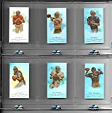 Very Rare 2008 eTopps Allen & Ginter Super Bowl Champions Uncirculated Matched Number Set #183/749 Includes Joe Montana, Joe Namath, Tom Brady, Terry Bradshaw, John Elway & Troy Aikman