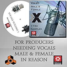 Vocals (Volume 1) - The Propellerhead Reason Refill For Reason 5 /6 /6.5 /7 /8