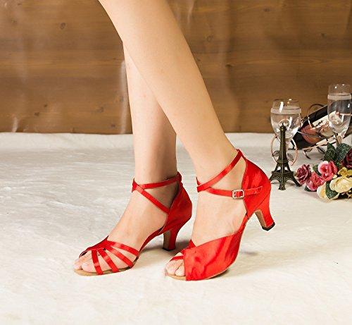 salón rojo talla color 35 mujer Miyoopark zdTqwxpza