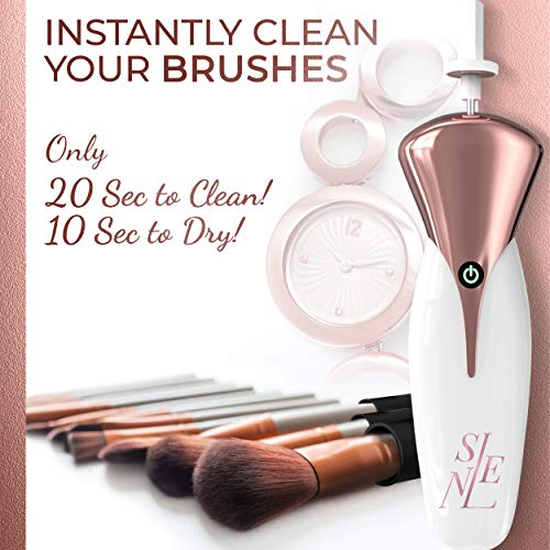 Makeup Brush Cleaner & Dryer   Instantly Wash & Dry Brushes in Seconds – Save Money & Increase the Longevity of Your Brushes   Makes Skin Healthier   Fits Any Brush
