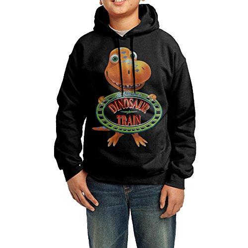 Mrs Pteranodon Costume (YHTY Youth Unisex Hoodie Dinosaur Train Black Size M)