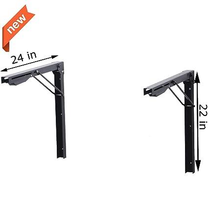 Amazoncom Ultrawall Shelf Brackets Heavy Duty Adjustable Folding