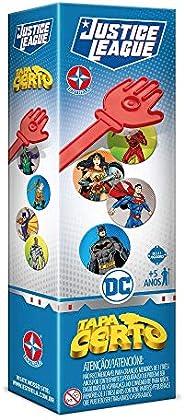 Tapa Certo - Liga Da Justiça, Brinquedos Estrela, Multicor