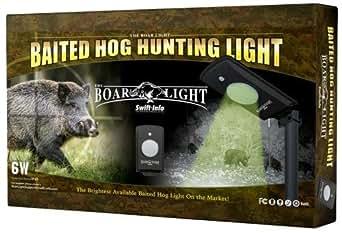 The Boar Light - Baited Hog Hunting Light - - Amazon.com