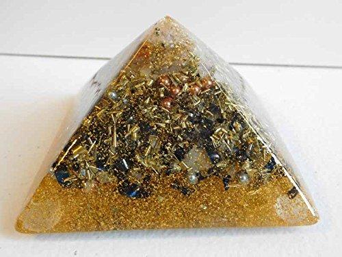 Prosperity Large Pyramid Crystal Orgone Energy Generator ...