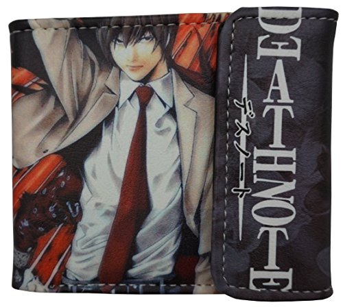 anime wallet bifold Deathnote trifold Light aqdxx5p