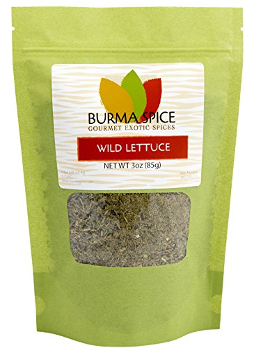 Wild Lettuce Leaf, opium lettuce know for natural pain relief. (3oz.) (Leaf Herb Single)