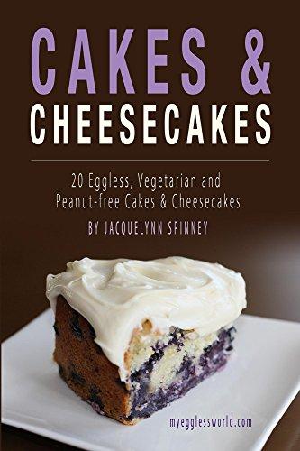 Peanut Cheesecake (Cakes & Cheesecakes: 20 Eggless, Vegetarian and Peanut-free Cakes & Cheesecakes)