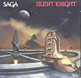 Saga: Silent Knight LP VG++/NM Canada Maze ML 8003 with lyric sleeve