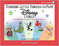 Teaching Little Fingers To Play Disney Tunes (Book/Online Audio) (Book & CD)
